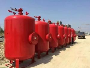 怎样进行消防泡沫罐的溢流回收工作呢?
