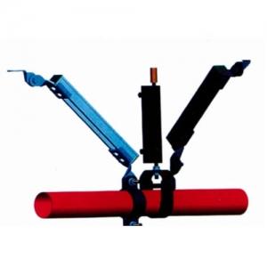 单悬管侧向及纵向支撑抗震支架